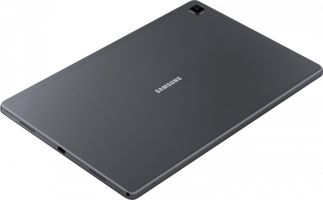 013_GalaxyTabA7_DarkGray_Dynamic_top_view.png