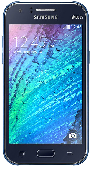 "Samsung's Galaxy J1 SM-J100F specifications and features: this is a 4.3"" (109.2mm) device with a WVGA 480 x 800 screen resolution."
