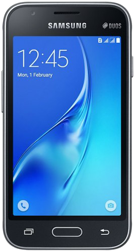 "Samsung's Galaxy J1 mini SM-J105B specifications and features: this is a 4.0"" (100.8mm) device with a WVGA 480 x 800 screen resolution."